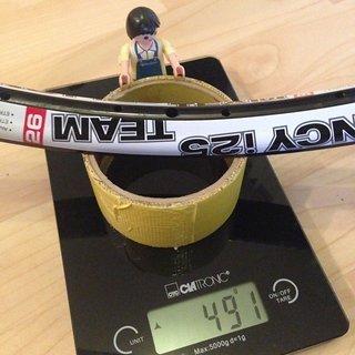 "Gewicht WTB Felge Frequency I-25 26"""