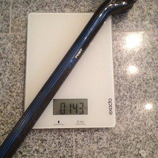 Gewicht Haibike Sattelstütze Flexpost Carbon 27,2mm