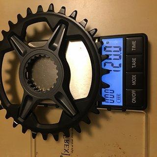 Gewicht Shimano Kettenblatt SM-CRM75 32
