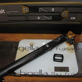 Gewicht Crank Brothers Sattelstütze Cobalt 11 31,6 x 400mm