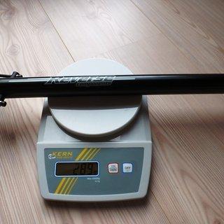 Gewicht Reverse Components Sattelstütze Black Line  31,6 x 400
