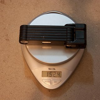 Gewicht Abus Fahrradschloss Bordo Granit X-Plus 6500 85cm