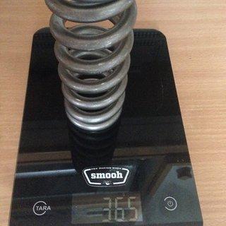 Gewicht Grade5 Feder Titanfeder 550 x 2.75