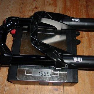 "Gewicht DT Swiss Federgabel OPM O.L. 100 27,5"", 100mm"
