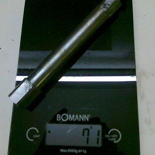 Gewicht Manitou Achse Minute Hex-Lock 110 x 20mm