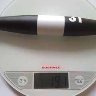 Gewicht 3T Lenker Xida Pro 31,8 x 640mm