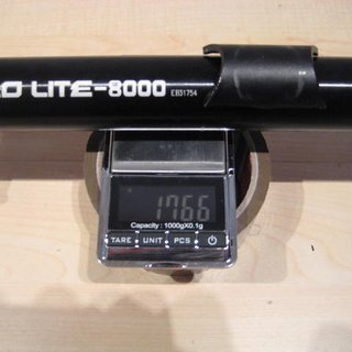 Gewicht KCNC Sattelstütze Ti Pro Lite Scandium 34,9 x 400mm