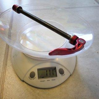 Gewicht Fun Works Achse Thru Bolt QR 135 x 10mm