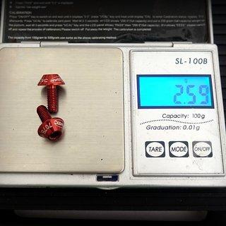 Gewicht GUB Schrauben, Muttern Linsenkopfschrauben G-510 M5x10