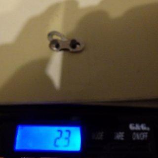 Gewicht KMC Chain Weiteres/Unsortiertes Missing Link 11 Silver 11-fach