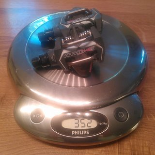 Gewicht Time Pedale (Klick) Atac XS