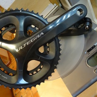 Gewicht Shimano Kurbelgarnitur Ultegra FC-6800 11S 50-34 MA 165 mm