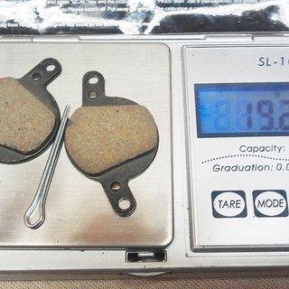Gewicht Superstar Components Bremsbelag M1 - Organic  Louise / FR bis 2006
