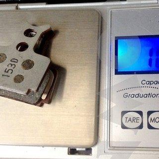 Gewicht Formula Bremsbelag Organisch Alu FD40105-10  RX/Mega/TheOne/R1/R1R/Oval