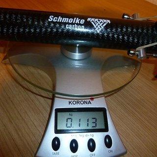 Gewicht Schmolke Carbon Sattelstütze SL 34,9 x 300mm