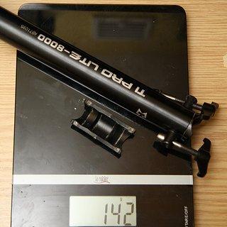 Gewicht KCNC Sattelstütze Ti Pro Lite Scandium 27,2 x 350mm