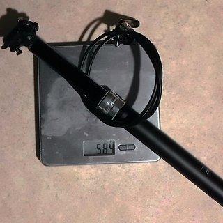 Gewicht Rock Shox Sattelstütze höhenverstellbar Reverb 31,6 x 420mm