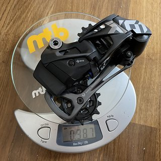 Gewicht SRAM Schaltwerk X01 Eagle AXS 12-fach