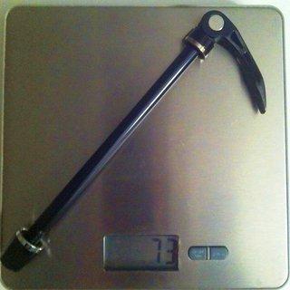 Gewicht Fun Works Achse Thru Bolt QR Superlight 135 x 10mm