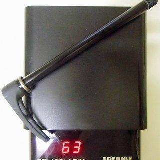 Gewicht Syncros Schnellspanner X12 Schraubachse 12x142 RWS M12 x 138mm