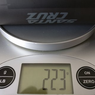 Gewicht Santa Cruz Lenker Carbon Riser 35 35x760mm, 9° Backsweep, 20mm Rise