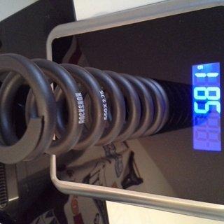 Gewicht Rock Shox Feder Stahlfeder (Vivid) 550x2,75