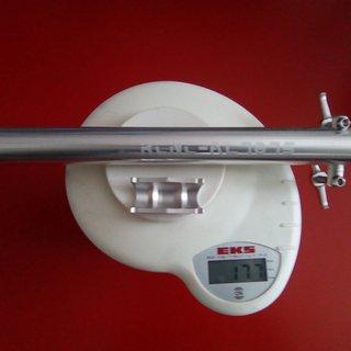 Gewicht KCNC Sattelstütze Ti Pro Lite AL75 27,2
