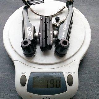 Gewicht Avid Felgenbremse Single Digit 7