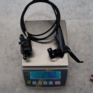Gewicht Avid Scheibenbremse Elixir 7 HR, 1560mm