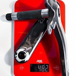 Gewicht Race Face Kurbel SIXC 83mm / 165mm