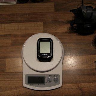 Gewicht Garmin GPS Edge 200