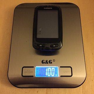 Gewicht Garmin GPS Edge 810