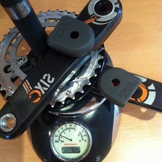 Gewicht Race Face Kurbelgarnitur SIXC 170mm, 26/36/Bash