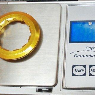 Gewicht Tuning Pedals Kassettenabschlussring Abschlussring (Al) 11Z