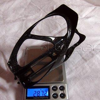 Gewicht No-Name Flaschenhalter Carbon-Flaschenhalter