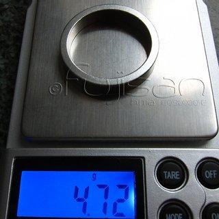 Gewicht No-Name Spacer Al-Spacer 1⅛'', 6mm