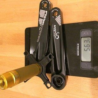 Gewicht e-thirteen Kurbel XCX+ 170mm