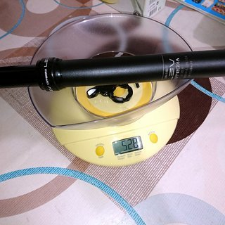 Gewicht Kind Shock Sattelstütze höhenverstellbar LEV INTEGRA 440/150mm, 30,9mm