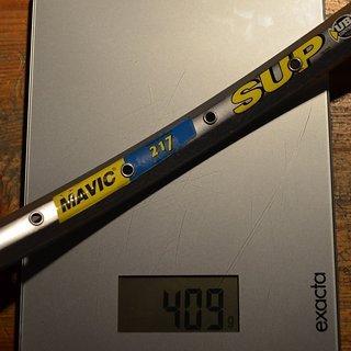 "Gewicht Mavic Felge SUP 217 26"" 32 Loch"