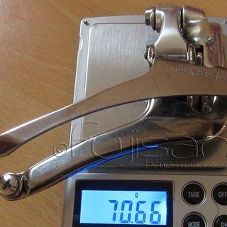 Gewicht Shimano Umwerfer Dura Ace FD-7700 Anlöt