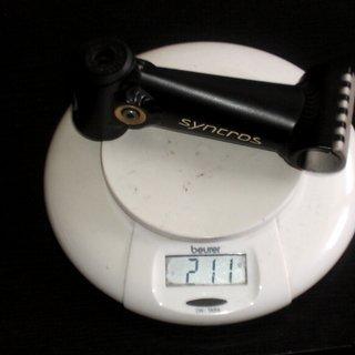Gewicht Syncros Vorbau Cattlehead 25.4mm, 130mm
