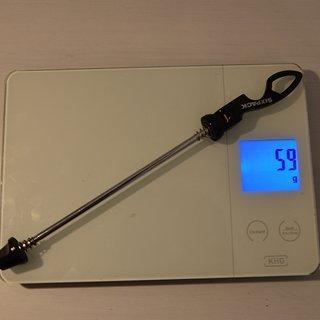 Gewicht Sixpack Schnellspanner Chopstix 135mm