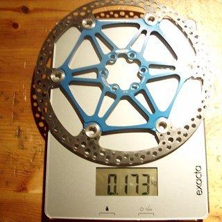 Gewicht Hope Bremsscheibe Floating Disc M4 203mm