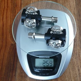 Gewicht Ritchey Pedale (Klick) Pro V5 Paradigm