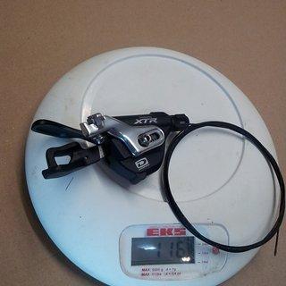 Gewicht Shimano Schalthebel XTR SL-M980 I-Spec 3x10-fach