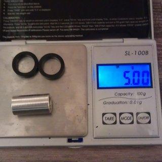 Gewicht No-Name Weiteres/Unsortiertes Dämpferbuchsen 22 x 8mm