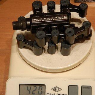 Gewicht Cannondale Pedale (Platform) Octopus