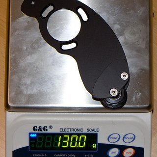 Gewicht G-Junkies Kettenführung Dreist 44Z, ISCG-03