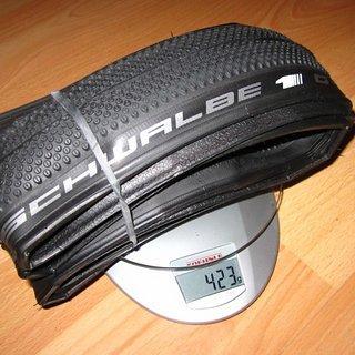 Gewicht Schwalbe Reifen G-One Allround Evolution MicroSkin OneStar 700x35C