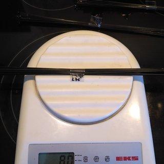 Gewicht Sapim Speiche D-Light 270mm, 16 Stück